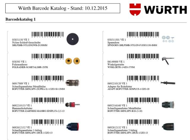 So einfach geht's! Sie haben erfolgreich einen Barcode-Katalog erstellt und können ab sofort die ausgewählten Artikel mittels Scanner erfassen und bestellen.