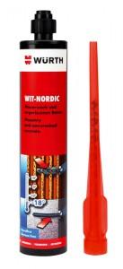 WIT-NORDIC ist eine Injektionstechnik für extrem niedrige Temperaturen (Kartusche, Umgebung, Verankerungsgrund) bis –20°C geeignet