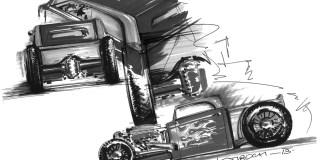 Würth Rod - Die erste Skizze