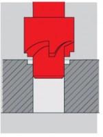 Einfache Gewindereparatur bei Metrischen Gewinden und UNC-Gewinden - Schritt 2