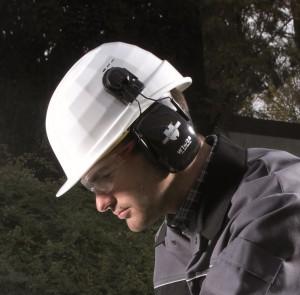 Helm-Kapselgehoerschutz