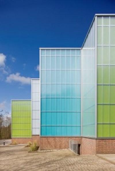 Ein Studentenwohnheim mit Stamisol Color gestaltet.