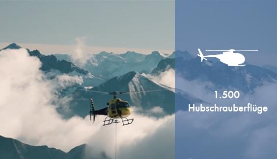 Gipfelstürmer Hubschrauber