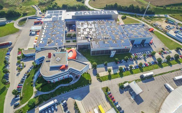 Würth Österreich setzt zukünftig mit einer Eigenverbrauchs-Photovoltaikanlage auf Öko-Strom. ©Ökovolt