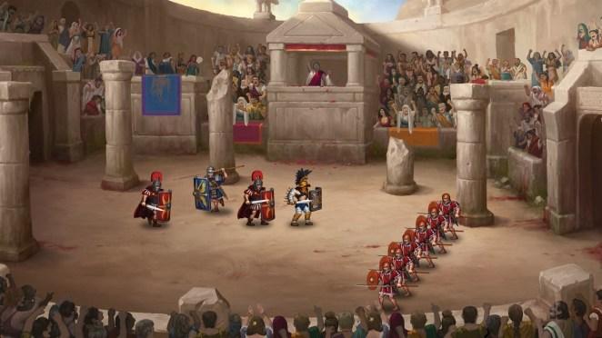 Histoire d'un gladiateur