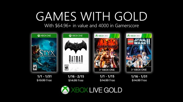 Games with Gold - January 2020