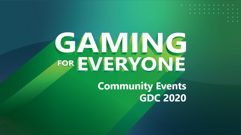 GDC 2020 - Gaming for Everyone