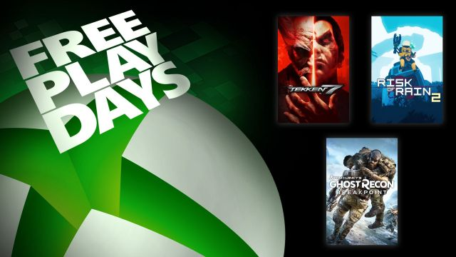 Free Play Days – Tekken 7, Tom Clancy's Ghost Recon Breakpoint, and Risk of Rain 2