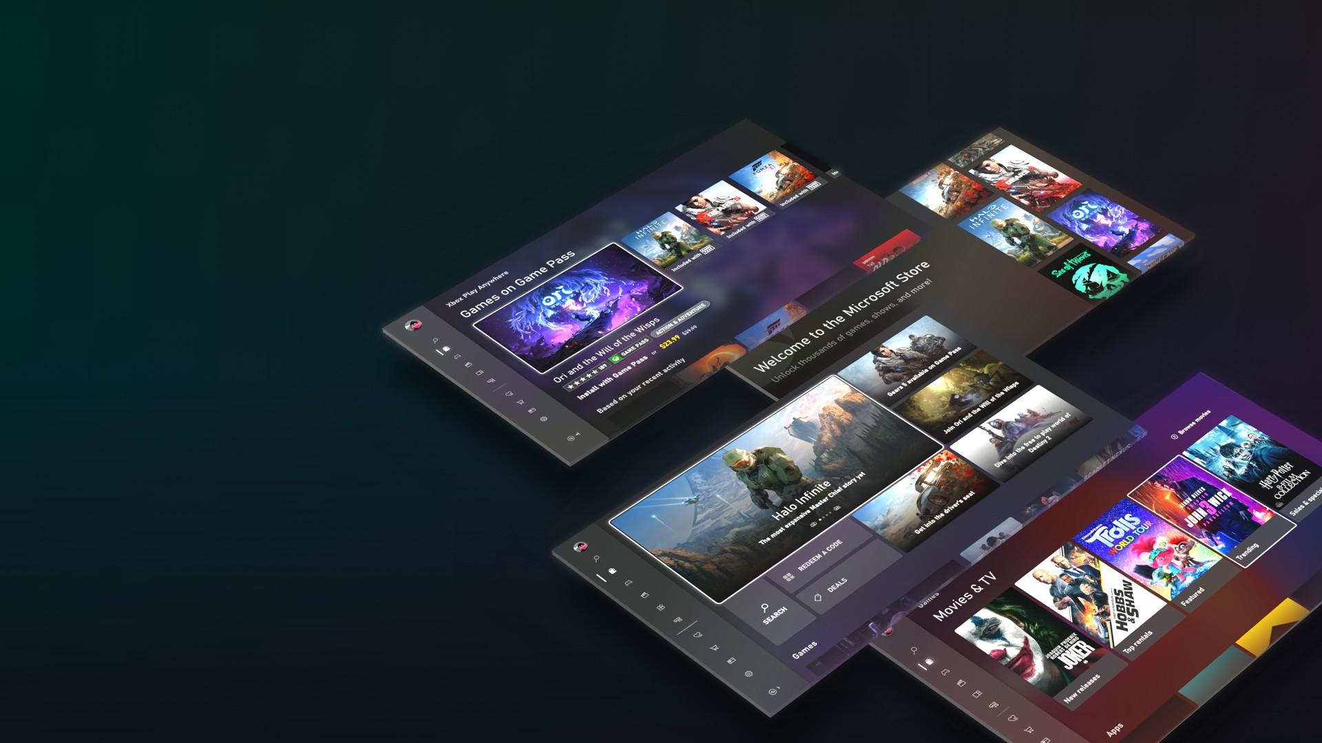 New Microsoft Store Hero Image
