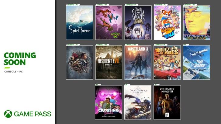 Xbox Game Pass August 2020 Wave 2 Hero