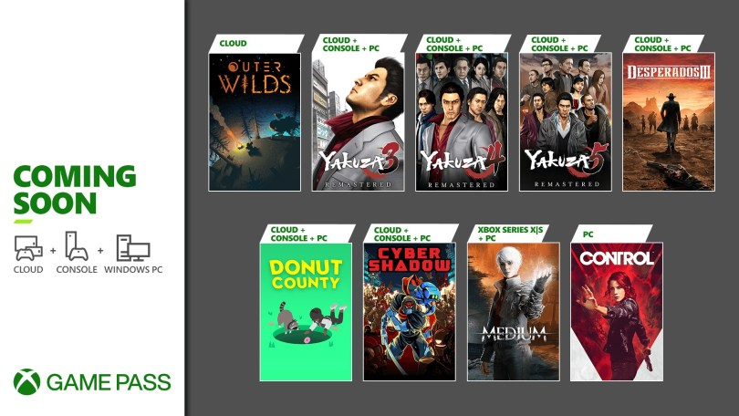Xbox Game Pass Update January 2020