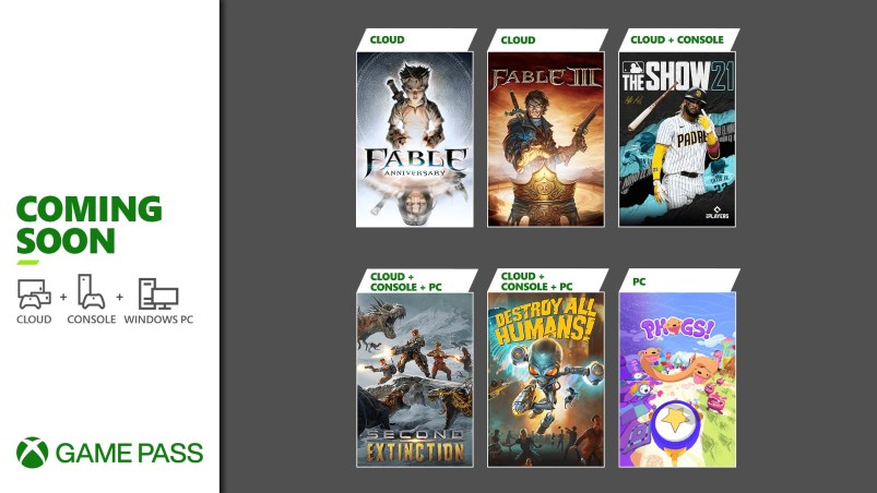 Xbox Game Pass Update - April 20