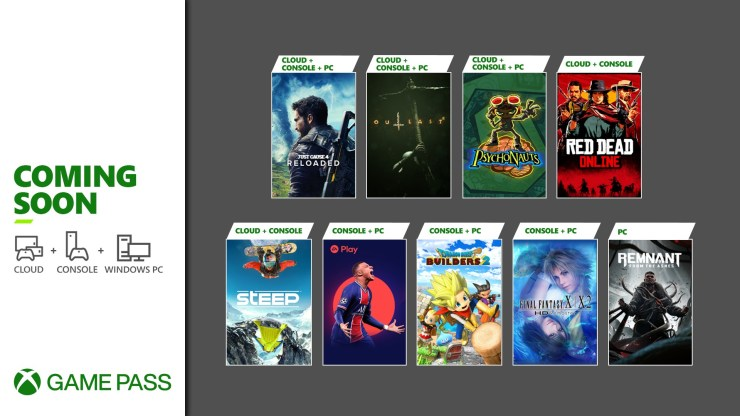Xbox Game Pass Mayo 2021 red dead online fifa 21 juegos