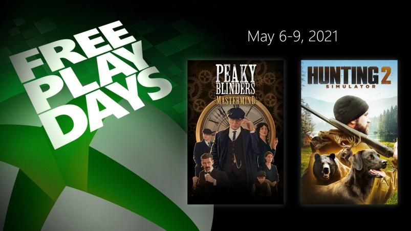 Free Play Days - May 6