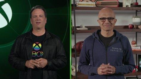 Phil and Satya Hero image