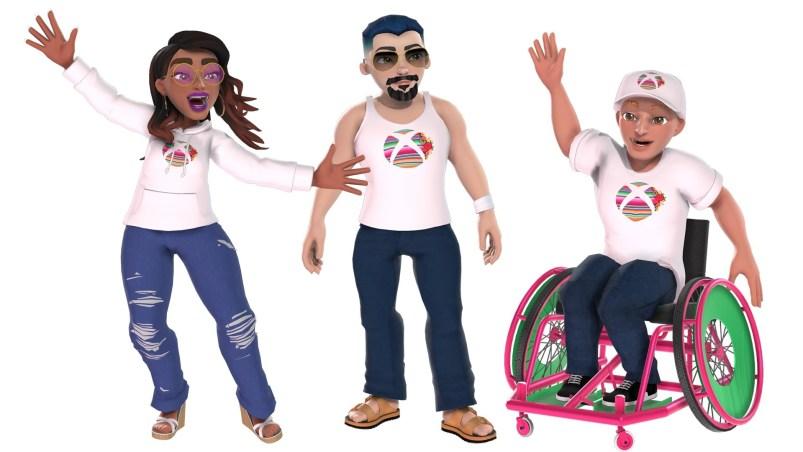 Celebrate with Xbox Avatars Hispanic Heritage Gear