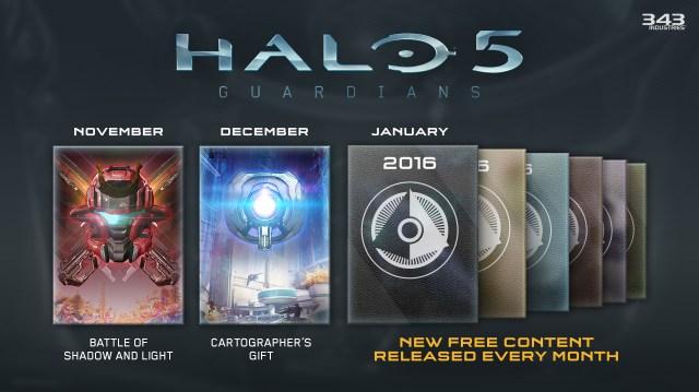 Halo 5 Guardians Sustain Roadmap