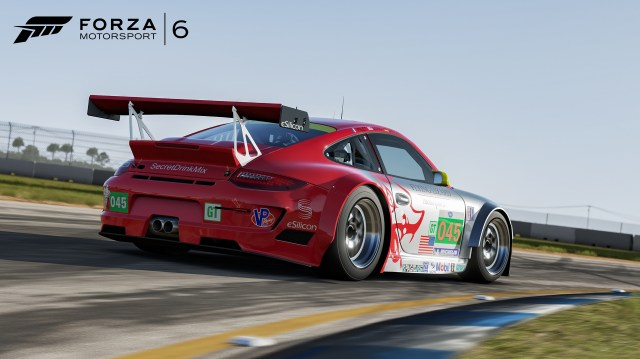2011 Porsche #45 Flying Lizard 911 GT3 RSR