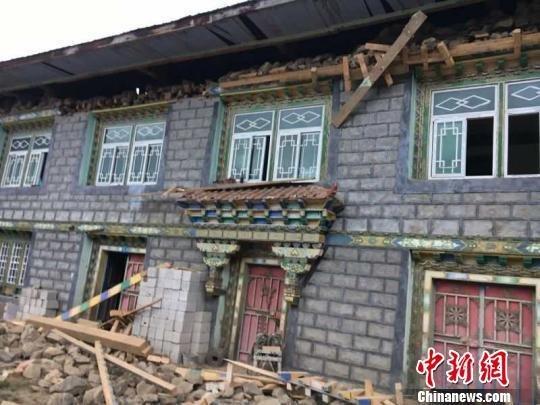 西藏林芝市米林县6.9级地震致两人受轻伤