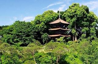 ホテル椿山荘東京は、1878年(明治11年)山縣有朋公が「つばきやま」の地名に基づき、 目白の高台にある邸宅を「椿山荘」と命名。
