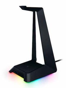 RAZER、USB3.0のハブ機能付きヘッドフォンスタンド「Base Station Chroma」の販売店舗を拡大