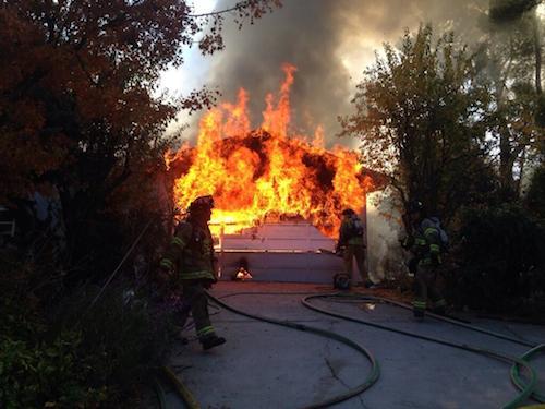 Lamorinda, Walnut Creek, Lafayette residential fire.