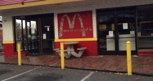 The Walnut Creek McDonalds restaurant is no more.