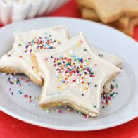 Sugar Cookies Don't worry, this isn't just another sugar cookie recipe — the coconut and almond flour mixture guarantees that perfect balance of crunchiness on the outside and buttery goodness on the inside. Get the recipe at Meaningful Eats.