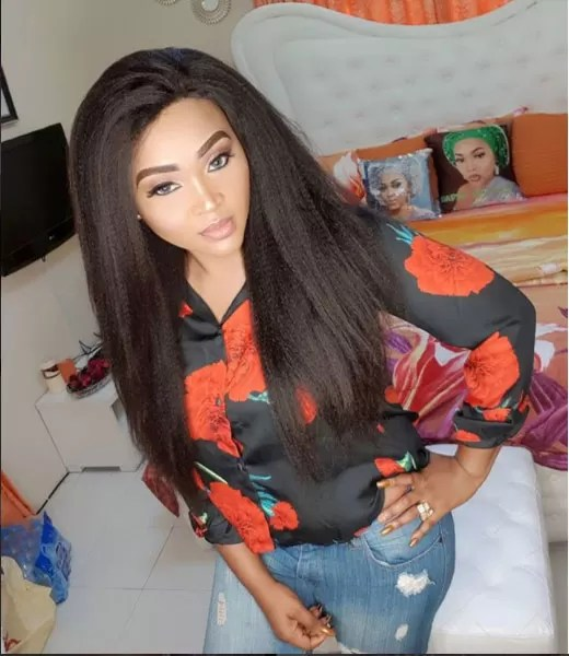 Image result for Mercy Aigbe caught in bed with another man