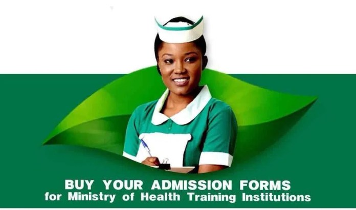 MINISTRY OF HEALTH ANNOUNCES RELEASE OF 2021/22 NURSES TRAINING FORMS
