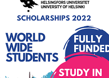 University of Helsinki Scholarship in Finland 2021