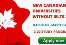 New Canadian Universities Without IELTS   Fully Funded