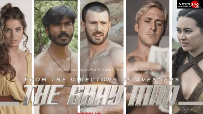 Actor Dhanush in the Hollywood film The Gray Man