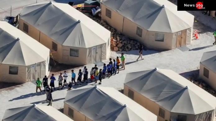 Migrant children in Texas.