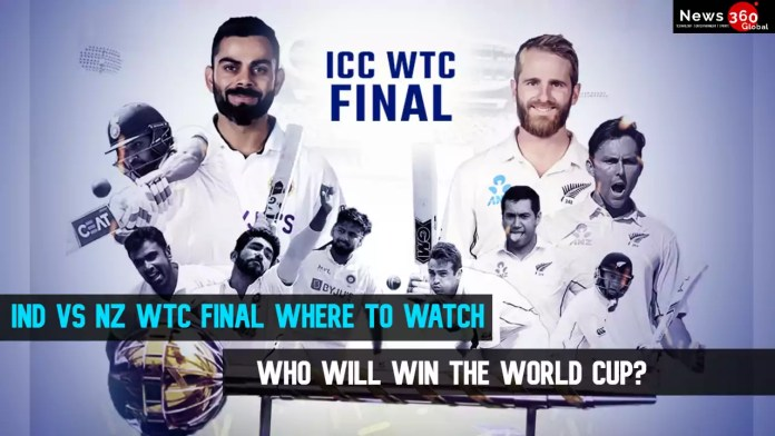 India vs New Zealand WTC Final Where to watch - Who will win the World Cup?