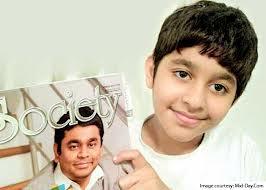 AR Rahman son Ameen