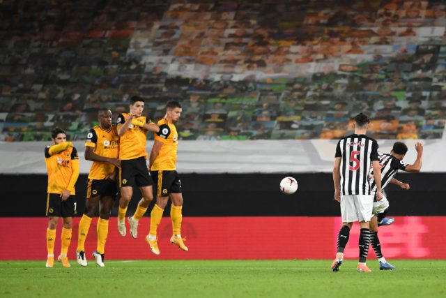Wolves 1 - 1 Newcastle