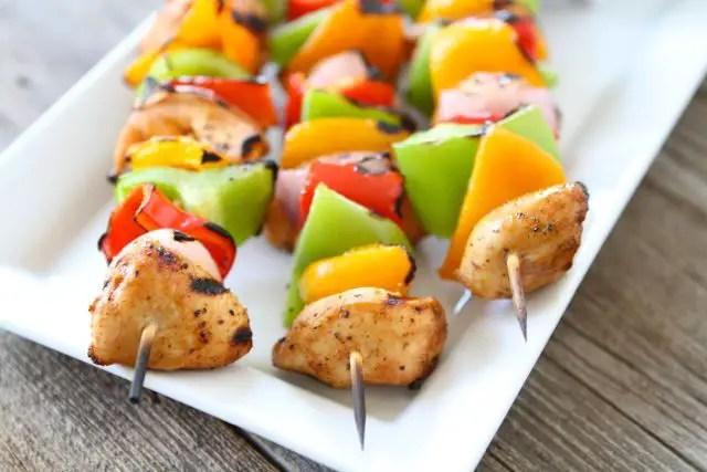 Recipe for Lamb Fruit Kebabs