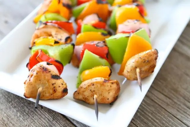 Recipe for Lamb Fruit Kebabs