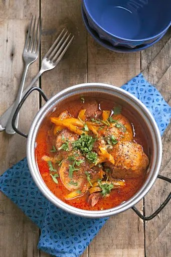 Spanish paprika Chicken