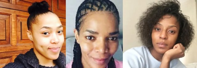Mzansi Celebs without makeup