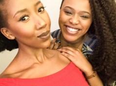 Sihle Ndaba and Natasha Thahane