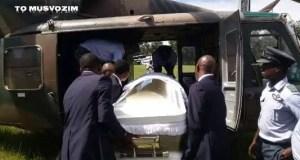 Morgan Tsvangirai Funeral