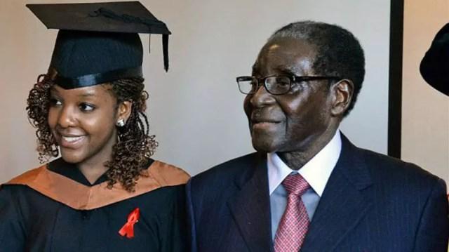 Bona Mugabe and Father
