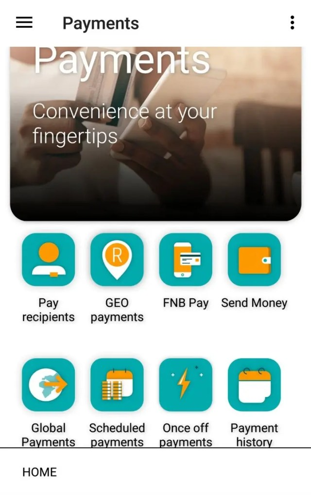 eWallet on new FNB Banking App