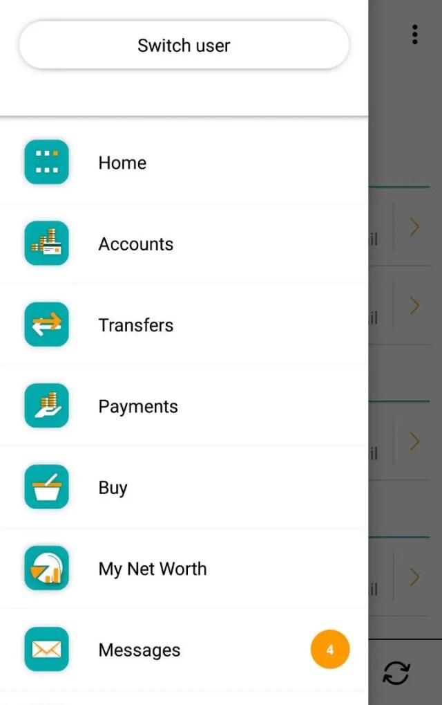 eWallet on new FNB Banking App