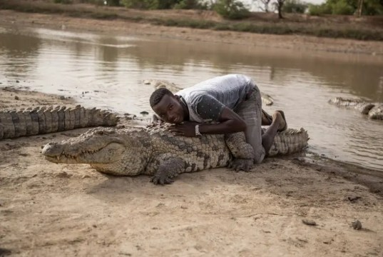 Burkina Faso crocodiles