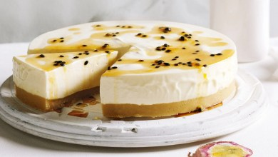 Photo of Recipe: Passion fruit and White Chocolate Cheesecake