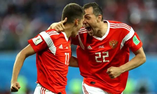 Russia vs Egypt