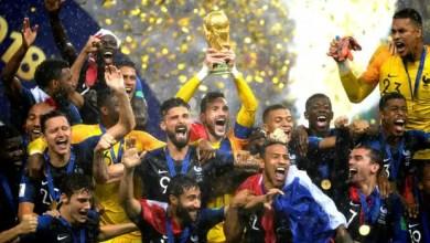 France FIFA World Champions